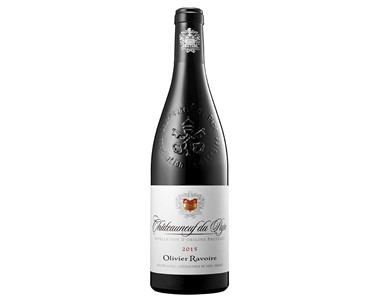 OLIVIER RAVOIRE -  Châteauneuf du Pape Red 2015.jpg